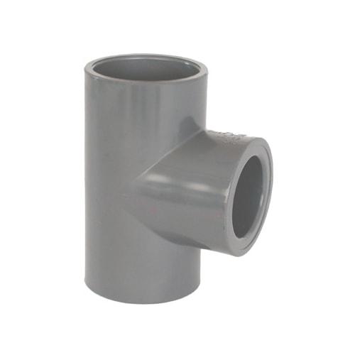 Te 90º Reducida PVC Encolar